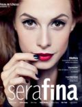 Elettra Wiedemann on the cover of Serafina (Brazil) - August 2010