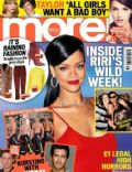 Rihanna on the cover of More (United Kingdom) - November 2012