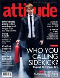 Rupert Grint on the cover of Attitude (United Kingdom) - July 2011