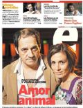 Julio Chávez, Viviana Saccone on the cover of Clarin (Argentina) - March 2012