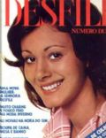 on the cover of Desfile (Brazil) - April 1973