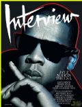 Jay-Z on the cover of Interview (United States) - February 2010