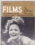 Films in Review Magazine [United States] (January 1975)