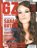 Sarah Butler on the cover of Gorezone (United Kingdom) - February 2011