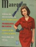 on the cover of Manequim (Brazil) - April 1962
