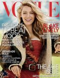 Blake Lively on the cover of Vogue (United States) - August 2014
