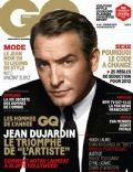 Jean Dujardin on the cover of Gq (France) - February 2012