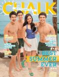 Julia Montes on the cover of Chalk (Philippines) - April 2014
