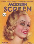 Marian Marsh on the cover of Modern Screen (United States) - April 1932