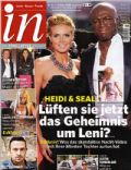Heidi Klum, Seal on the cover of In (Germany) - October 2010