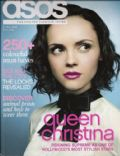 Christina Ricci on the cover of Asos (United Kingdom) - June 2008