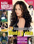 Aura Cristina Geithner, Cielo Rojo on the cover of Tele Novela (Spain) - April 2012