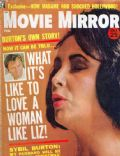 Elizabeth Taylor on the cover of Movie Mirror (United States) - February 1964