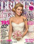 on the cover of Brides (United Kingdom) - February 2013