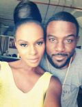 Lance Gross and Tika Sumpter