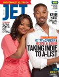 Michael B. Jordan, Octavia Spencer on the cover of Jet (United States) - August 2013