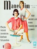 on the cover of Manequim (Brazil) - June 1961