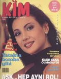 J?lide Ates on the cover of Kim (Turkey) - July 1995