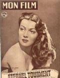 Lana Turner on the cover of Mon Film (France) - May 1950