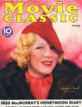 Glenda Farrell on the cover of Movie Classic (United States) - October 1936
