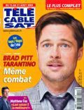 Brad Pitt on the cover of Tele Cable Satellite (France) - August 2009