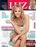 Mariana Fabbiani on the cover of Luz (Argentina) - April 2014