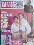Alfredo Alcón, Norma Aleandro on the cover of Caras (Argentina) - April 1993