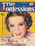 Eleanor Powell on the cover of True Confessions (United States) - March 1936