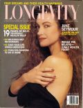 Jane Seymour on the cover of Longevity (United States) - January 1994