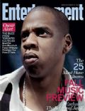 Jay-Z on the cover of Entertainment Weekly (United States) - September 2006