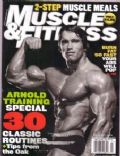 Arnold Schwarzenegger on the cover of Muscle Fitness (United States) - January 2005
