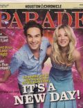 Kaley Cuoco on the cover of Parade (United States) - January 2010
