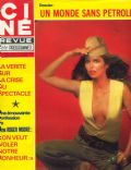 Barbara Bach on the cover of Cine Revue (France) - July 1979