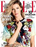Gisele Bündchen on the cover of Elle (Sweden) - June 2014