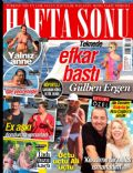 Ata Demirer, Can Bonomo, Cem Yilmaz, Didem Soydan, Gülben Ergen, Isin Karaca, Özge Özberk on the cover of Haftasonu (Turkey) - July 2014