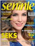 Özge Özberk on the cover of Seninle (Turkey) - January 2012
