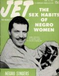 Herb Jeffries on the cover of Jet (United States) - January 1952