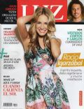 Rocío Igarzábal on the cover of Luz (Argentina) - January 2014
