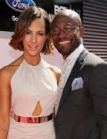 Amanza Smith Brown and Taye Diggs