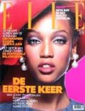 Tyra Banks on the cover of Elle (Netherlands) - April 1993