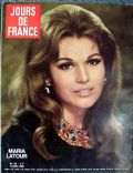 Maria Latour on the cover of Jours De France (France) - December 1968