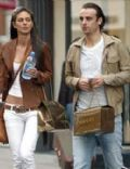 Dimitar Berbatov and Elena Shtilianov