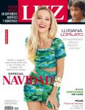 Catherine Fulop, Luisana Lopilato, Nicolas Vazquez on the cover of Luz (Argentina) - December 2011