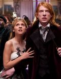 Domhnall Gleeson and Clemence Poesy