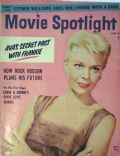 Doris Day on the cover of Movie Spotlight (United States) - August 1956