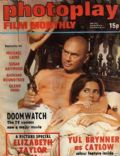 Yul Brynner on the cover of Photoplay (United Kingdom) - May 1972