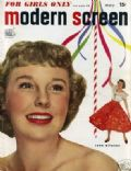 June Allyson on the cover of Modern Screen (United States) - May 1950