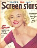 Marilyn Monroe on the cover of Screen Stars (United States) - July 1956
