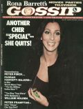 Cher on the cover of Rona Barretts Gossip (United States) - May 1977