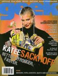 Katee Sackhoff on the cover of Geek Monthly (United States) - November 2007